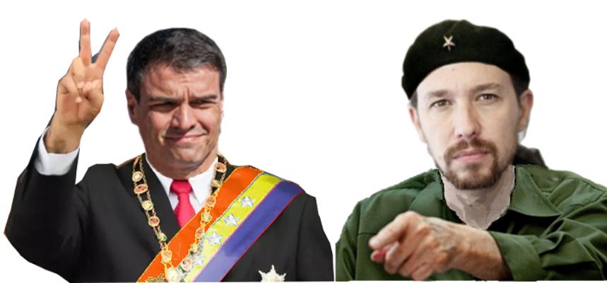 "Comandante ""Maduro Sánchez subcomandante ""Marcos Iglesias"""
